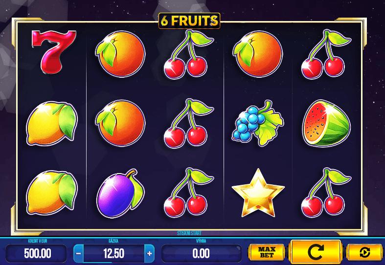 6 Fruits